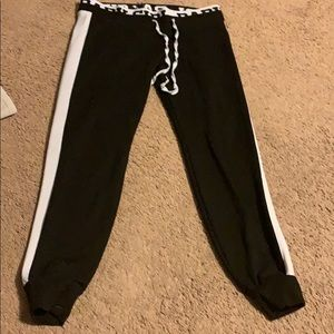 Black BabyGirl Rue21 Joggers Size S